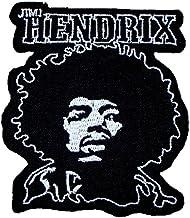 f HEAVY METAL PUNK ROCK MUSIC FESTIVAL SEW ON IRON ON PATCH: JIMI HENDRIX