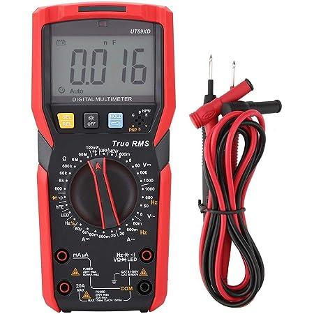 Digitalmultimeter Walfront Ut89x Ut89xd 6000 Zählt Nvc Messung Digitalmultimeter Ac Dc Spannung Strom Ohm Kapazität Frequenz Arbeitszyklus Temperaturprüfung Ut89xd Baumarkt