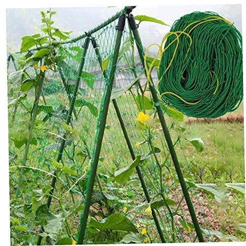 Aisoway Nylon Trellis Netting Garden Netting for Climbing Plants Cucumbers Flowers Vine Vegetables