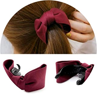 Hair Claw Hard Large Hairpins Clips Fine Clip Hairgrip Band Big Bows Ties Ponytail Headband