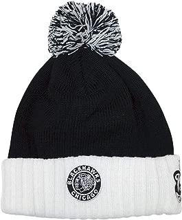 adidas Chicago Blackhawks 2019 Winter Classic Cuffed Pom Knit Hat