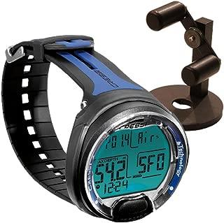 Cressi Leonardo Dive Computer, Scuba Diving Instrument w/Watch Stand or GupG Reg Bag
