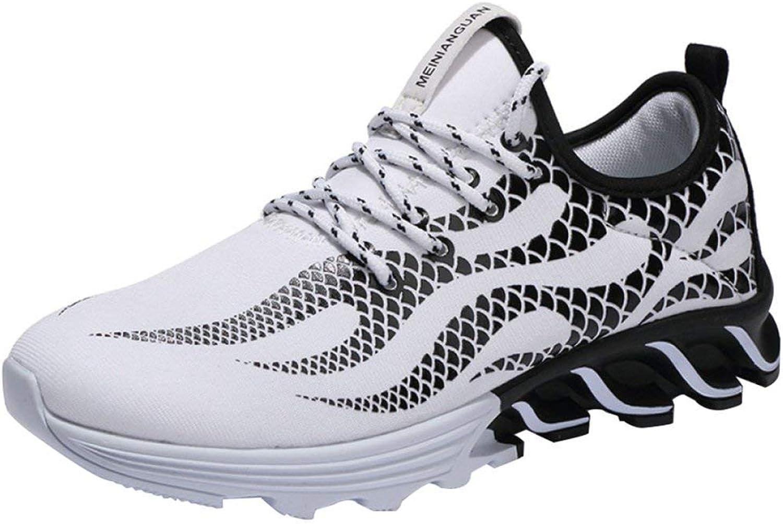Sommer Herrenschuhe Trend Laufschuhe Sportschuhe Sportschuhe Sportschuhe Mesh Schuhe Herren Messer Schuhe, Herren Sportschuhe (Farbe   388Weiß, Größe   EU 40)  ca17c4