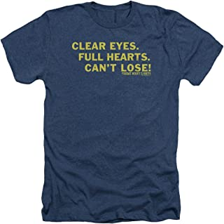 TV Series Clear Eyes Adult Heather T-Shirt Tee