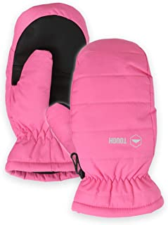 Kids Winter Snow & Ski Mittens - Youth Mitts Gloves Designed for Skiing & Snowboarding - Fits Toddlers, Junior Boys and Girls