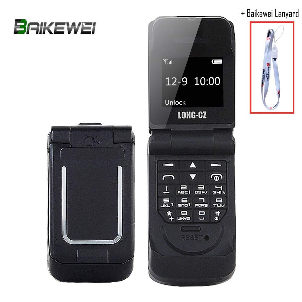 Baikewei Mini Flip Teléfono móvil Long-CZ J9 0.66