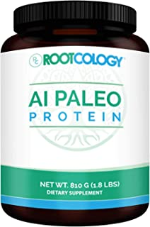 Rootcology AI Paleo Protein - Dairy-Free and Soy-Free 26g Hydrolyzed Beef Protein - Dietary Supplement Powder for Energy a...