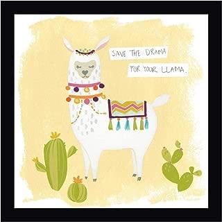 Pom Pom Llama Rama I by June Erica Vess 24
