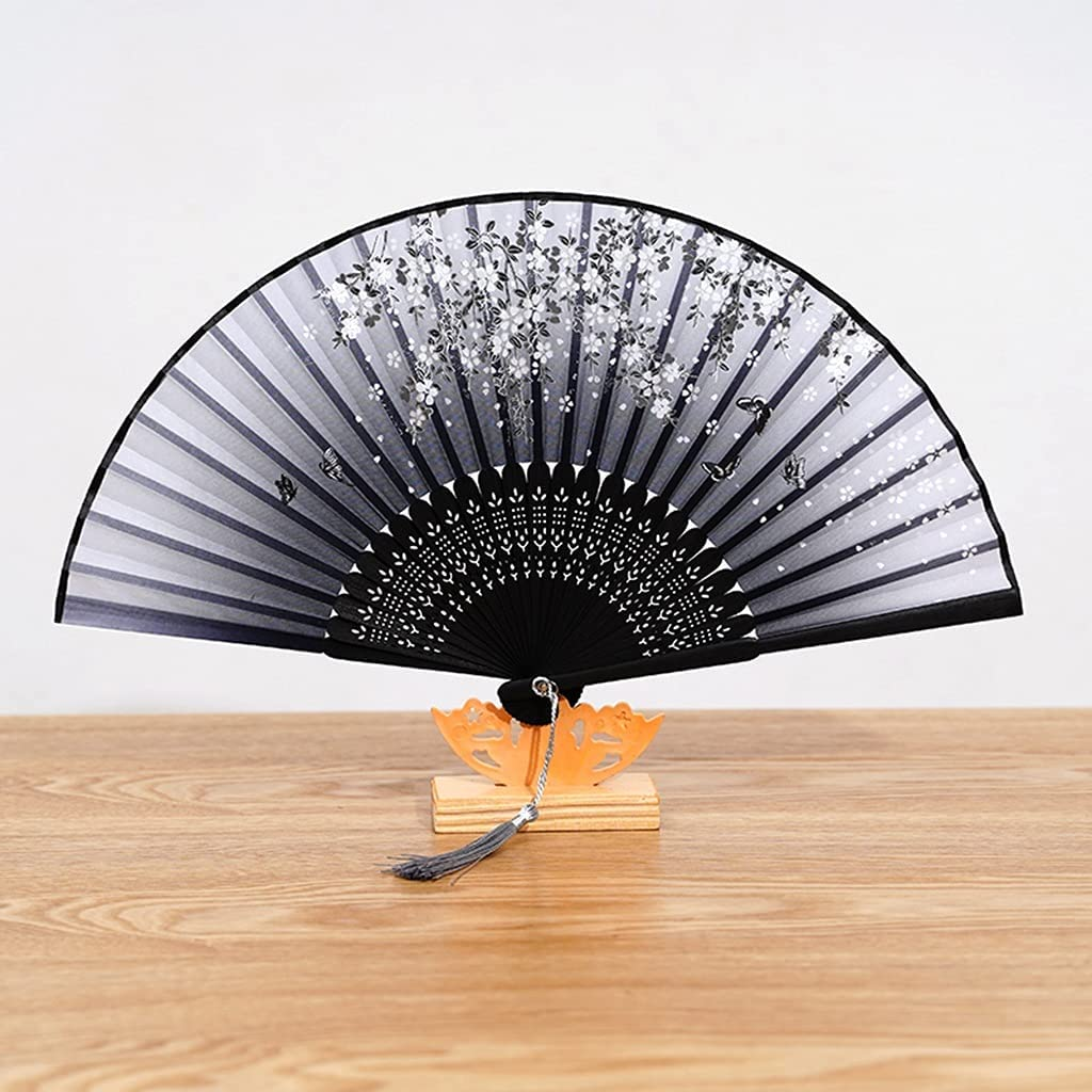 ZYCSKTL Chinese Fans Folding Fan,Classic and Elegant Painted and
