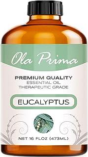 Sponsored Ad - Ola Prima 16oz - Premium Quality Eucalyptus Essential Oil (16 Ounce Bottle) Therapeutic Grade Eucalyptus Oil