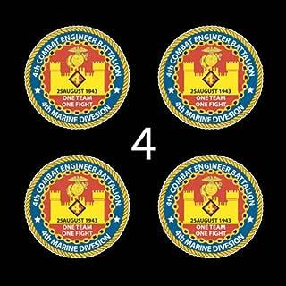 Marines USMC 4th Combat Engineer Battalion SSI 3