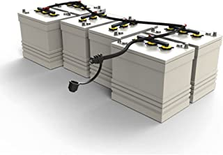 On-Board Battery Watering Systems, 48-Volt Kit for Eight 8-Volt Batteries
