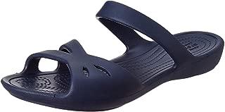 crocs Women's Kelli Sandal W Navy Fashion 6 UK (W8) (203991-410)