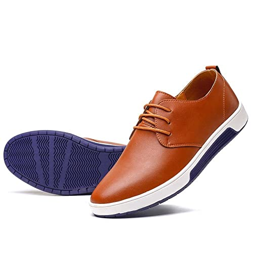 casual leather shoes for men