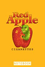 Red Apple Cigarettes - Tarantino Brand Notebook: Journal, Planner, Diary, 6x9 120 Pages, Matte Finish Cover, Lined College...