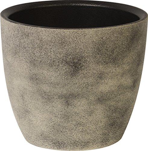 Ivyline 30113CO 13 cm 301 Series Planter - Concrete
