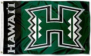 Hawaii Warriors Rainbows University Large College Flag