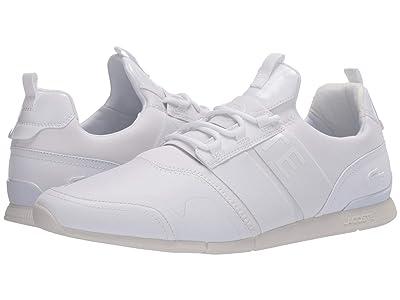 Lacoste Menerva Elite 120 2 (White/White) Men
