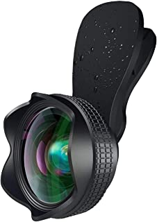 スマホ用カメラレンズ クリップ式レンズ 広角レンズ マクロレンズ 自撮りレンズ カメラレンズキット-Luxsure 2020 簡単装着 2in1 花弁の形