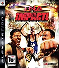 TNA Impact Total Nonstop Action Wrestling PlayStation 3 by Midway