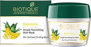 Biotique Banana Deeply Nourishing Hair Mask for Normal to Dry Hair, 175g