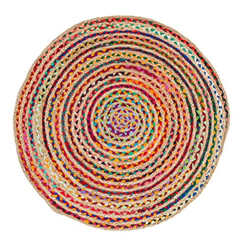 Barbara Becker Teppich BB Ethno Multi 80 cm Rund Multicolor