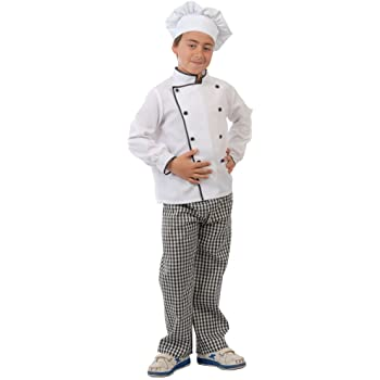 Alco Disfraz Infantil 7-9 años COCINERO: Amazon.es: Juguetes y juegos