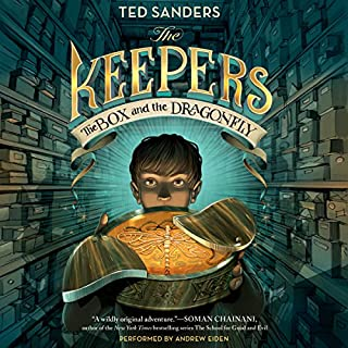 The Keepers: The Box and the Dragonfly audiobook cover art