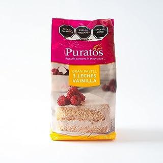 Puratos, harina para preparar pastel 3 Leches Vainilla, bolsa 1 Kg (1,000 gramos)