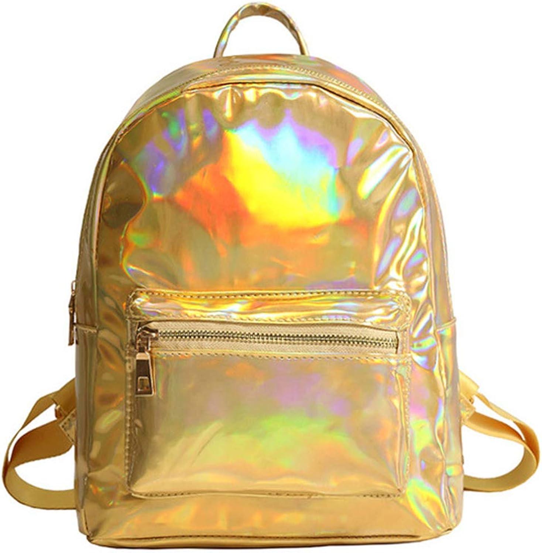 SUVZYW123 Holographischer Rucksack des Rucksackdamen-Taschenmädchens B07PT757X4  Empfohlen heute