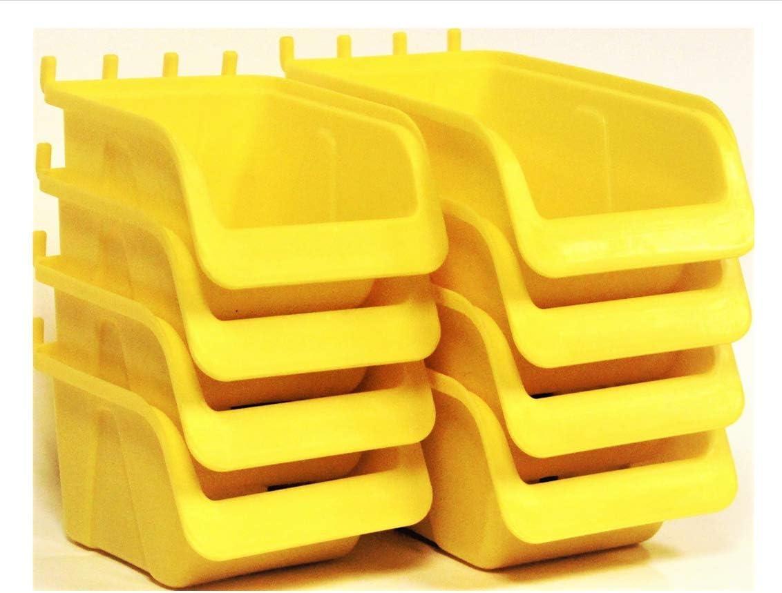 WallPeg Pegboard Branded goods Bin Deluxe Kit - Storage Organize Parts Craft