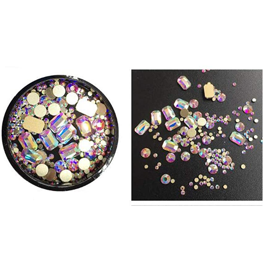 敵惑星遅いACHICOO ネイルジュエリー ダイヤモンド クリスタル ファッション シマーネイルデコレーション DIY 装飾 ロングアニスABカラーダイヤモンド