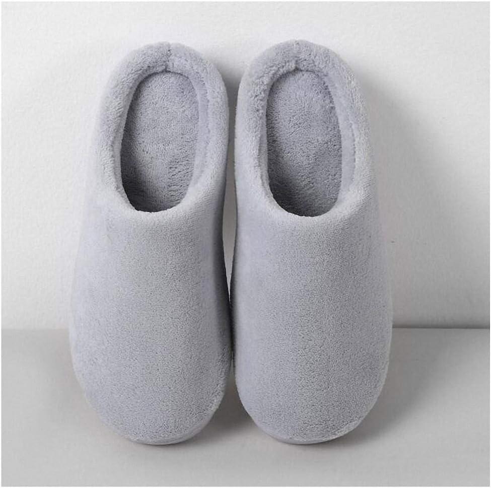 Tinpia Womens Home Slipper Unsex Family Shoes Nonskid Soft Cotton Shoes Women Slipper