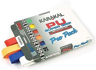 Karakal Duo Supergrip Racquet Grip - Tennis/Badminton/Squash - Random Colour x 6