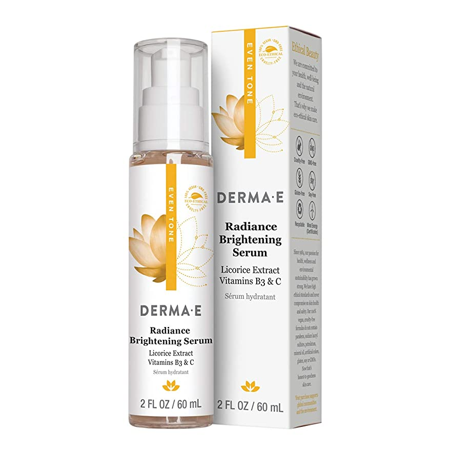 人質またはどちらかドナーDerma E Evenly Radiant Brightening Serum 60ml/2oz並行輸入品