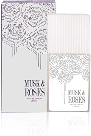 Ahmed Al Maghribi Perfume Musk & Roses For Unisex 50ml - Eau de Parfum