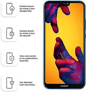 "Huawei P20 Lite 64GB Klein Blue, Dual Sim, 5.84"" inch, 4GB Ram, (GSM Only, No CDMA) Unlocked International Model, No Warranty"