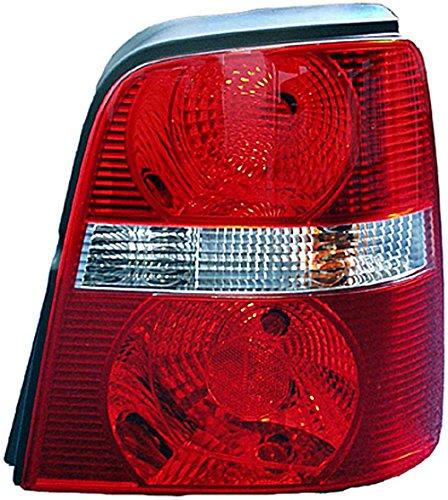 HELLA 2VP 008 759-061 Heckleuchte - Glühlampe - glasklar/rot - rechts - für u.a. VW Touran (1T1, 1T2)