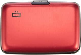 Ogon Aluminum Wallet Red Credit Card Hard Case Sweden