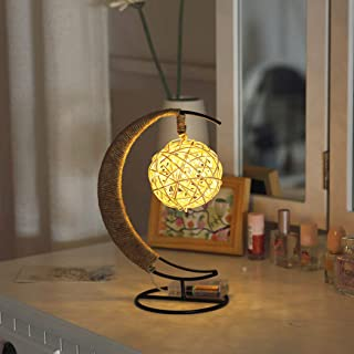 AMERTEER LED Star Art Decorative Lights Table Decoration Hand - made Copper Wire lamp Lamp for Diwali Ramadan Kids boy and...