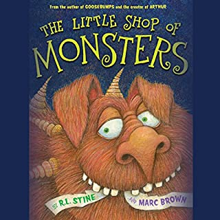 The Little Shop of Monsters audiobook cover art