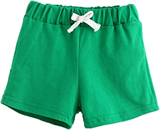 Fabal Summer Kids Cotton Shorts Boys Girls Shorts Candy Clothing Shorts Baby Clothing