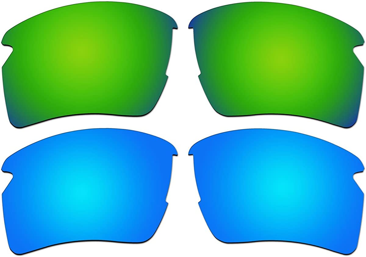 Spring new work one after another Replacement Polarized Emerald 40% OFF Cheap Sale Green and Oakl Lenses Ice Blue for