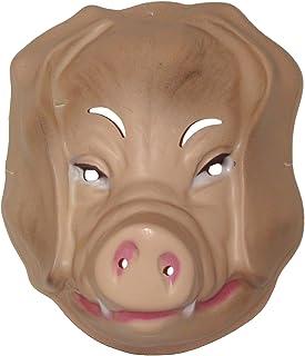 Schweinemaske Schweine Maske Schweinchen Schweinsmaske Schwein Tiermaske