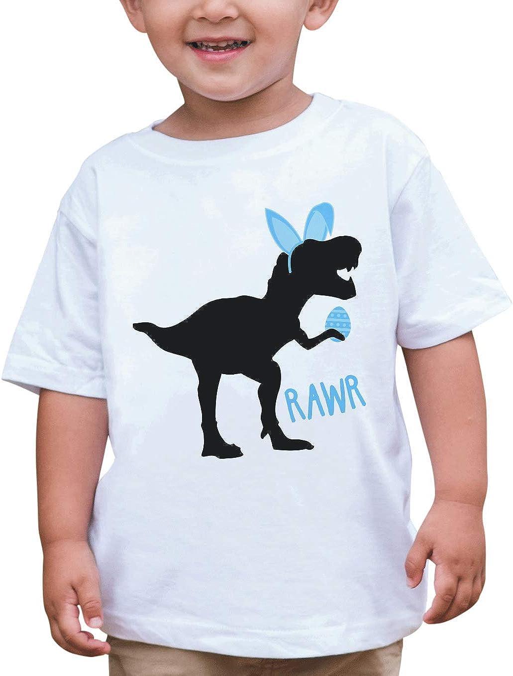 7 ate 9 Apparel Boy's Easter Dinosaur T-Shirt