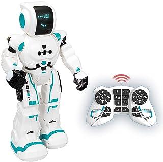 Xtrem Bots - Robbie, Robot Juguete Teledirigido Programable, Robots para Niños 5 Años O Más Educativos, Juguetes Robótica ...