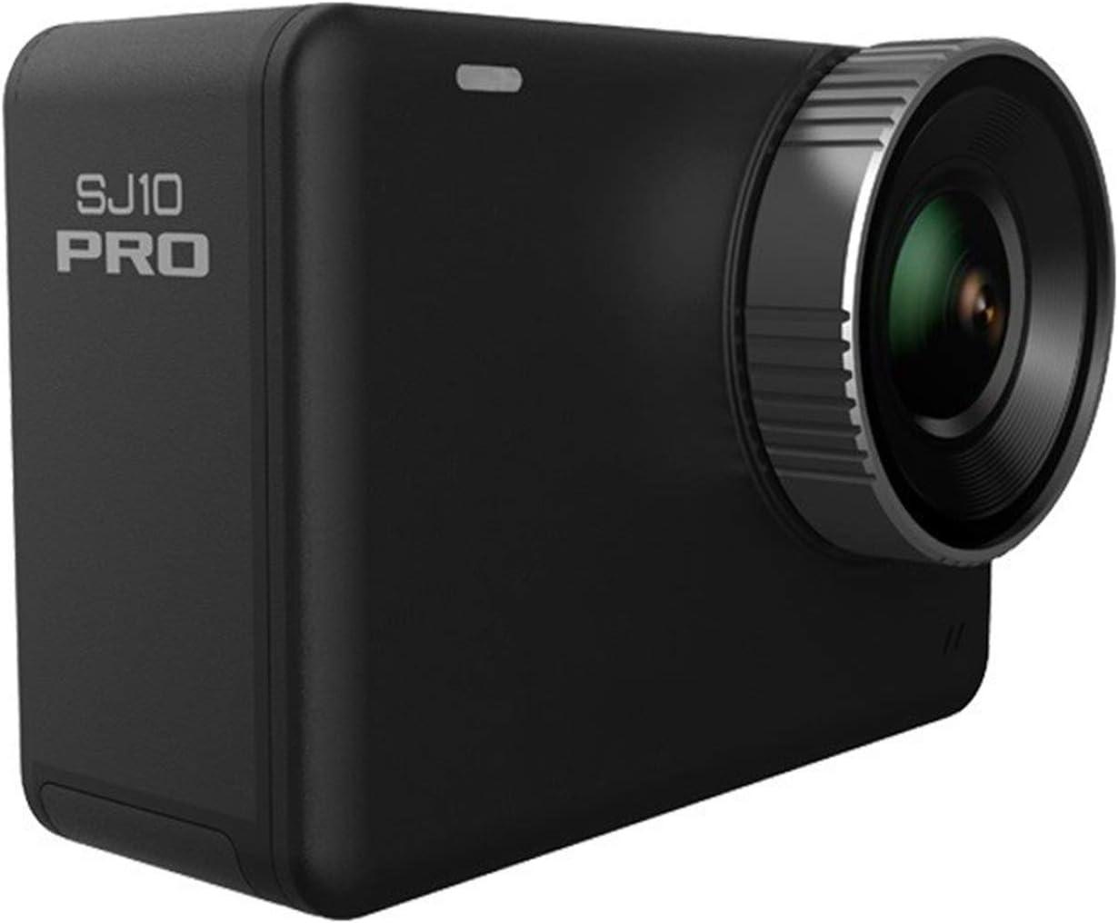 SJ10 Pro Supersmooth Gyro Estabilización WiFi Remoto, cámara, acción H22 chipset 4K / 60 FPS EIS cámara Ultra HD Deportes Extremos F11.12C (Bundle : Standard, Color : Black)