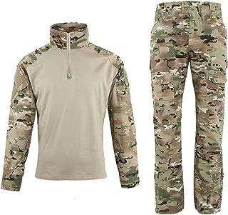 EXCELLENT ELITE SPANKER Outdoor Tactical Men's Military BDU Uniform Tactical Combat Training Set