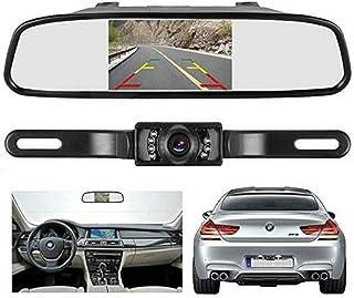 "$35 » 4.3"" TFT LCD Monitor Mirror Wireless Car Reverse Back Up Camera Kit Night Vision"
