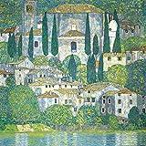 1art1 Gustav Klimt - Kirche In Cassone Am Gardasee, 1913